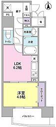 KMレジデンス堺東駅前[10階]の間取り