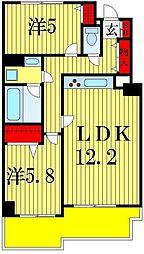 セリオ五番館[4階]の間取り
