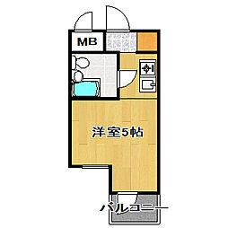 TOP・船橋第1[3階]の間取り