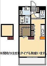 (新築)下北方町常盤元マンション[603号室]の間取り