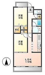 カーサ・ラ・ピラ[7階]の間取り