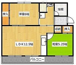 ヴィラナリー中間II4号棟[3階]の間取り