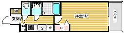プレサンス神戸ティアラ[7階]の間取り