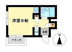 エクセランス新栄[4階]の間取り