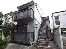 京都府京都市北区小山上総町の賃貸アパートの外観