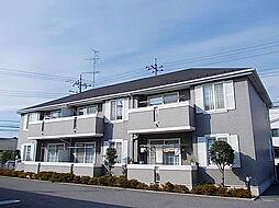 メイプルタウン弐番館[1階]の外観