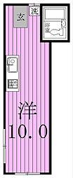 フェリオ[II号室]の間取り