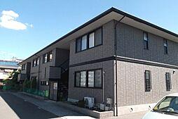大阪府茨木市並木町の賃貸アパートの外観