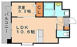 リアングォーム[3階]の間取り