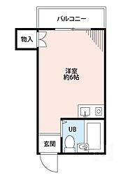 JPアパートメント摂津II[3階]の間取り