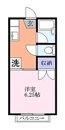 ハウスオブバランス[2階]の間取り