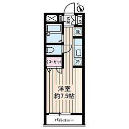 青葉台ハイツ[2階]の間取り
