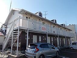 愛知県北名古屋市九之坪小松の賃貸アパートの外観