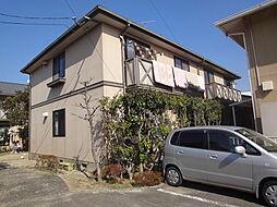 福岡県宗像市田熊3丁目の賃貸アパートの外観