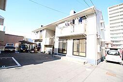 岡山県岡山市北区西古松西町の賃貸アパートの外観