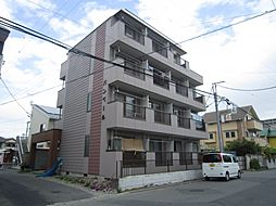 バンベールマンション[4階]の外観