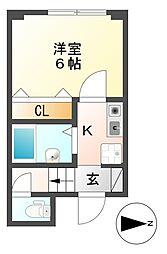 立花駅 3.8万円