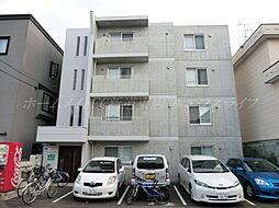 北海道札幌市東区北二十五条東14丁目の賃貸アパートの外観