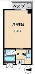 旭ビル21 bt[402kk号室]の間取り