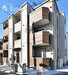 愛知県名古屋市瑞穂区河岸町4丁目の賃貸アパートの外観
