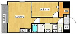 ソレイユ中央[305号室号室]の間取り