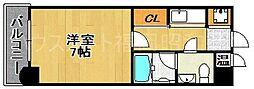 エステートモア六本松II[3階]の間取り