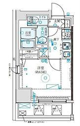 クレイシア西横浜[2階]の間取り