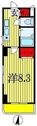 第12中央ビル[6階]の間取り