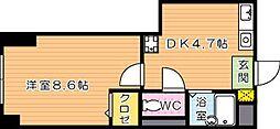 fairebriller黒崎(フェールブリエ黒崎)[2階]の間取り
