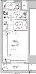 東京メトロ銀座線 浅草駅 徒歩11分の賃貸マンション 2階1Kの間取り