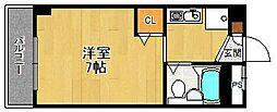 御代開19[3階]の間取り