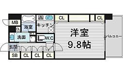 KAISEI梅田[5階]の間取り