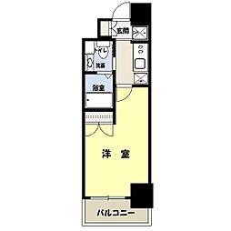 レジディア月島3[11階]の間取り