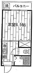 デコレック405[2階]の間取り