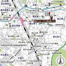 東急ドエル・アルス恵比寿イスト[404号室]の外観