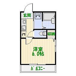 レジデンス・カメアリ[0103号室]の間取り