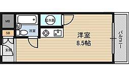 オリエント新大阪アーバンライフ[417号室]の間取り