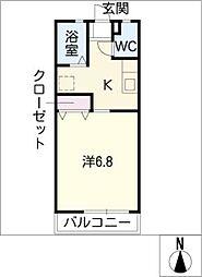 アンデルセン3号棟[2階]の間取り