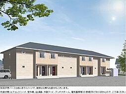 神奈川県足柄上郡開成町吉田島の賃貸アパートの外観