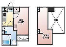 ルイシャトレ[2階]の間取り