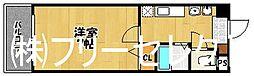フローラルA博多[5階]の間取り