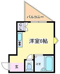 R-stayI[2階]の間取り