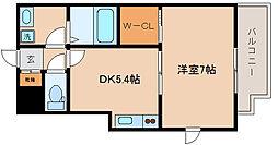 兵庫県神戸市兵庫区大井通1丁目の賃貸マンションの間取り