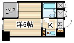 東京都千代田区平河町1丁目の賃貸マンションの間取り