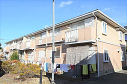 東京都昭島市田中町2丁目の賃貸アパートの外観
