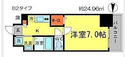 アドバンス大阪城アンジュ[6階]の間取り