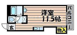 岡山県倉敷市美和2丁目の賃貸マンションの間取り