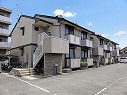 大阪府茨木市中村町の賃貸アパートの外観