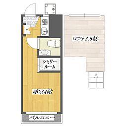 pia3[329号室]の間取り
