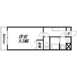 静岡県浜松市南区東若林町の賃貸マンションの間取り